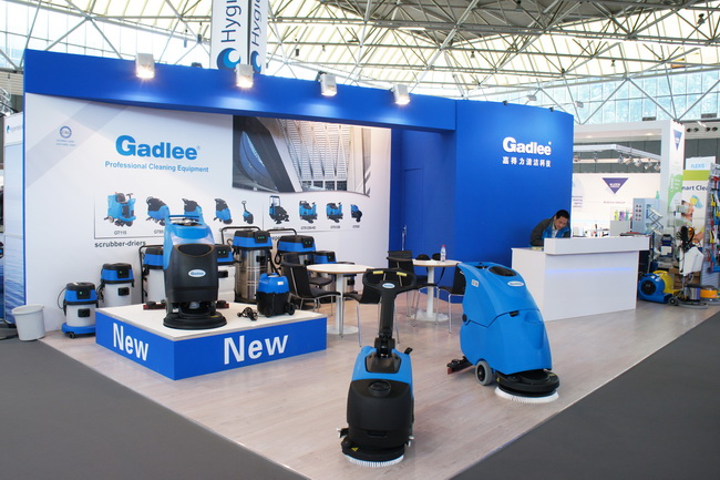 Gadlee attend the ISSA/Interclean Amsterdam 2014