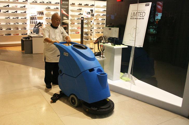 Gadlee嘉得力商场地面清洁手推式洗地机