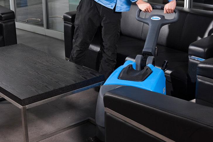 办公室清洁迷你洗地机嘉得力